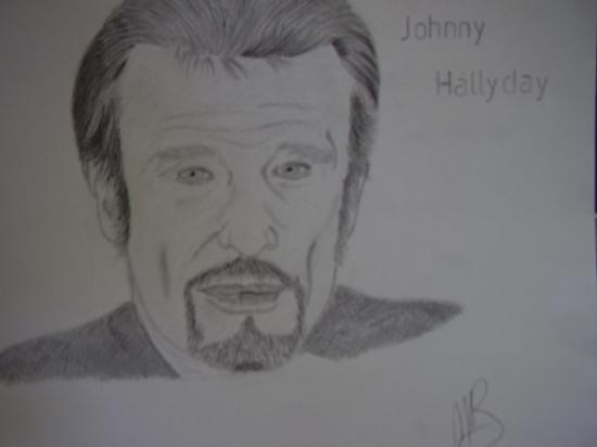 Johnny Hallyday by ambrebel